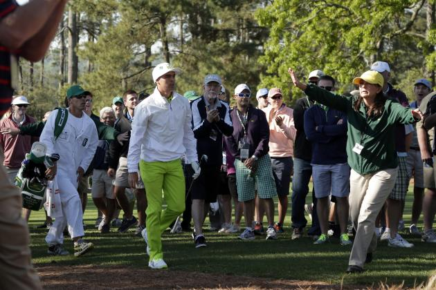 Golfers to Go HAM with Their Outfits at the 2014 Masters