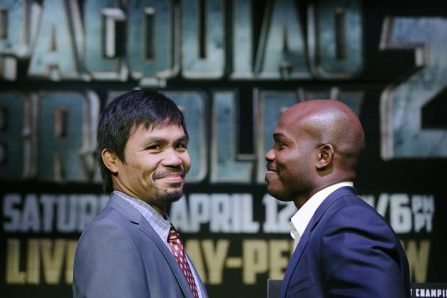 Pacquiao vs. Bradley Undercard: Projections for Pac-Man vs. Desert Storm Slate