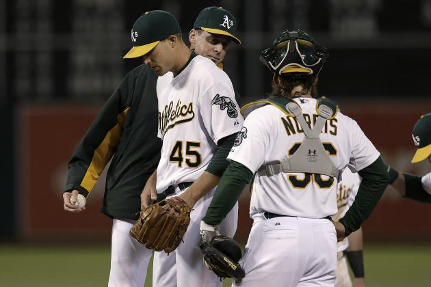 A's Remove Jim Johnson from Closing Duties