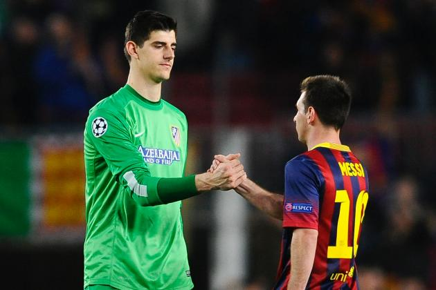 It Would Cost Atletico Millions to Play Thibaut Courtois Against Chelsea