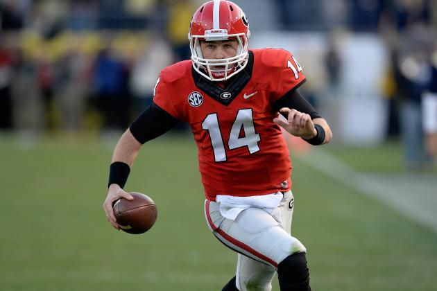 What Mark Richt Needs to See from QB Hutson Mason in Georgia's Spring Game
