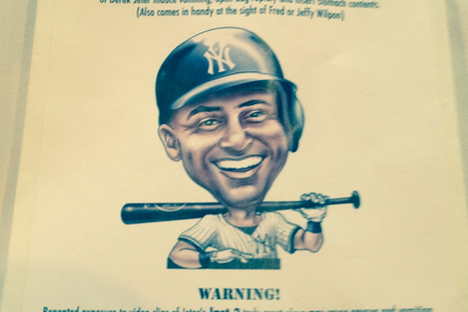 Mets Fans Create 'Jeter Retirement Barf Bag' for Farewell Tour