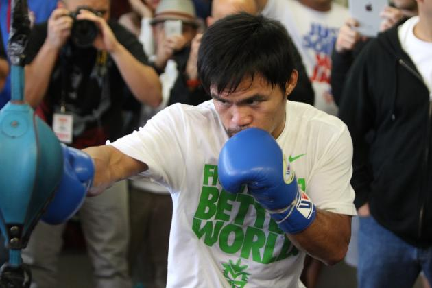 Manny Pacquiao Must KO Desert Storm to Redeem Controversial Loss
