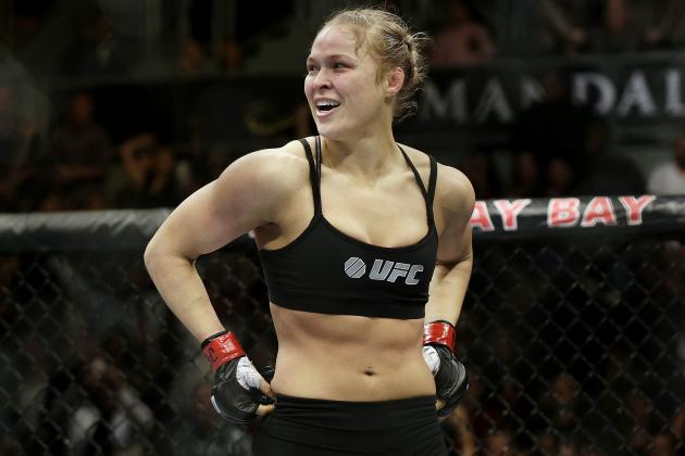 Rousey Responds to Cyborg: 'She Got Dropped Like 5 Times in Her Last Fight'
