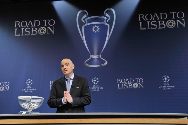 Champions League/Europa League Semi-Final Draw: Live Results and Reaction