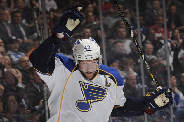 David Backes Injury: Updates on Blues Captain's Foot and Return