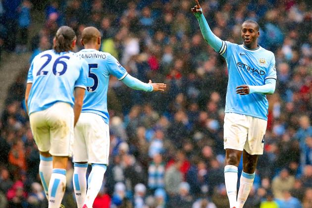 How Man City Can Stop Liverpool's Attack of Suarez, Sturridge and Co. at Anfield
