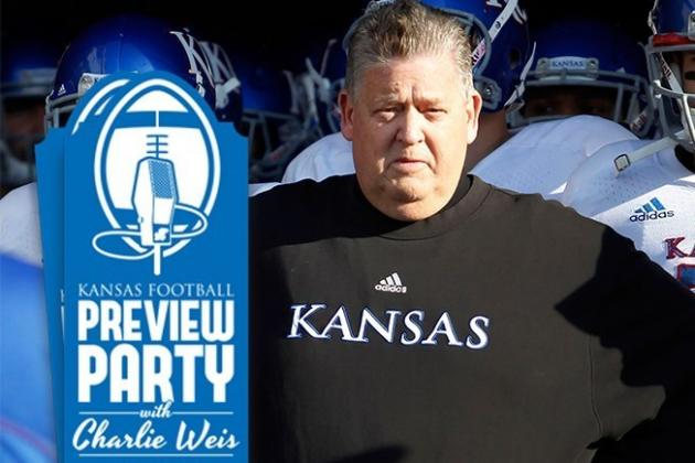 KANSAS FOOTBALL PREVIEW PARTY with CHARLIE WEIS 2014 DATES...