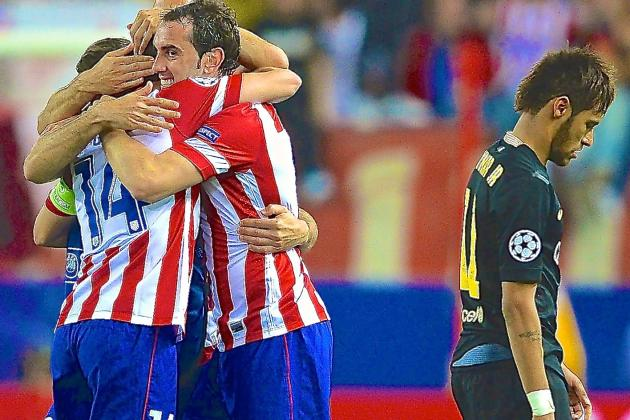 Irresistible Atletico Madrid Show Time Is Up for This Barcelona Side