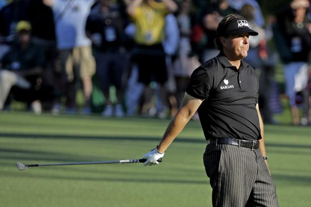 Masters Cut Line 2014: Latest Projections Following Day 1 Leaderboard Analysis