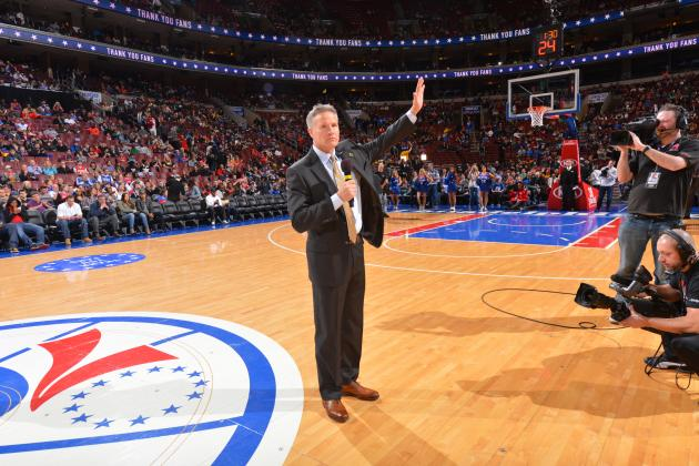 Sixers Coach Brett Brown: It's 'Really Important' for Team to Draft a Star