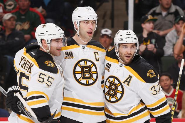 Zdeno Chara a Healthy Scratch vs. Jets; Patrice Bergeron out