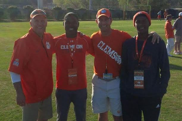 Dabo Swinney Gives 2017 WR Keyshawn Johnson Jr. Clemson Offer
