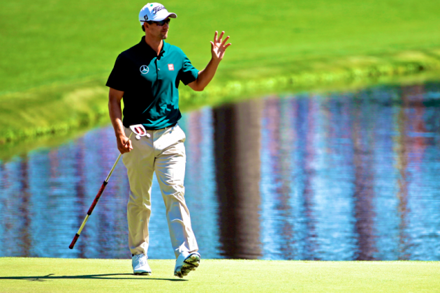 Masters Repeat Still a Long Way off for Adam Scott After Strong First Round