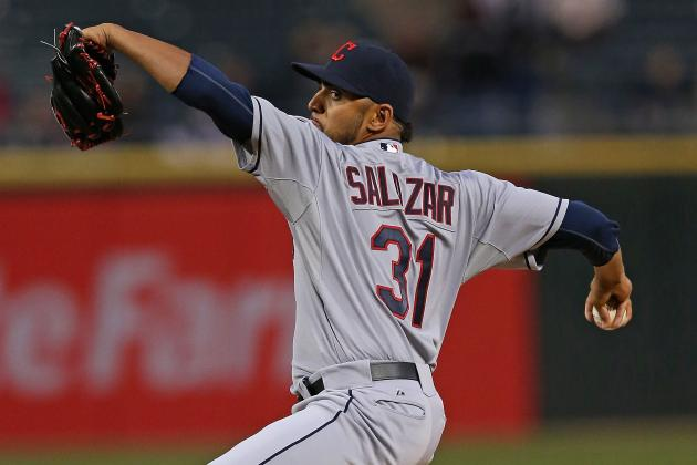 Danny Salazar Makes History in Loss to White Sox