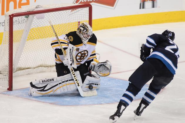 Jets Rally, Beat Bruins in Shootout