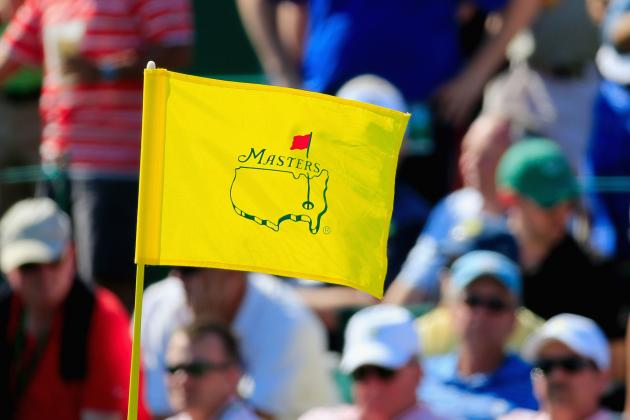 Masters Tournament 2014: Easy-to-View Mobile Updates for Day 2 Leaderboard