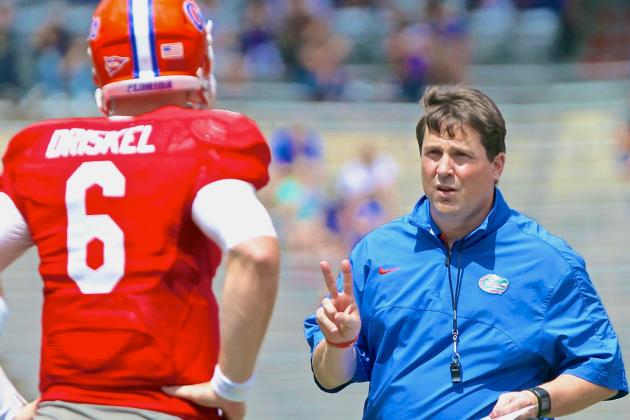 What Will Muschamp Needs to See from Gator QBs in 2014 Spring Game