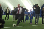 Rob Ford Destroys Youth in Penalty Kicks