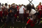 Kingsbury Battles Players in Dance-Off at Practice
