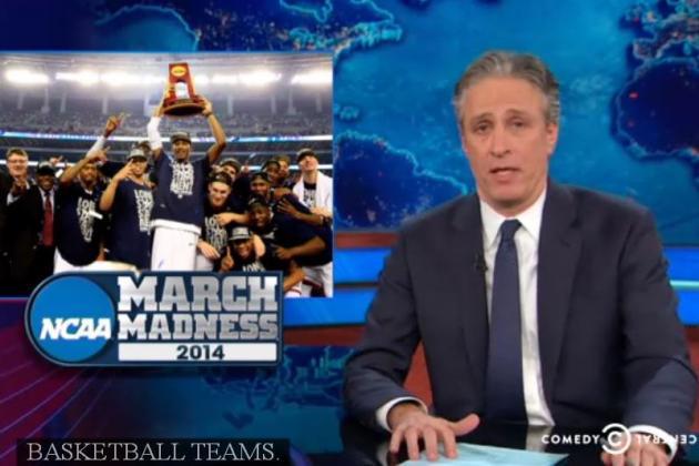 Jon Stewart Puts the NCAA on Blast on 'The Daily Show'