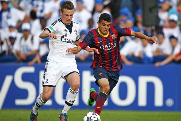 Schalke U19s vs. Barcelona U19s: UEFA Youth League Semi-Final Score and Report