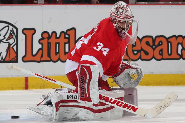 Detroit Recalls Mrazek from Grand Rapids