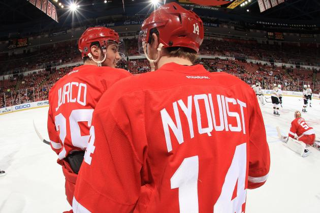 Youth Can Take Red Wings Only so Far in Playoffs