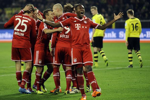 Bayern Munich vs. Borussia Dortmund: Kick-Off, Live Stream, TV Info and Preview