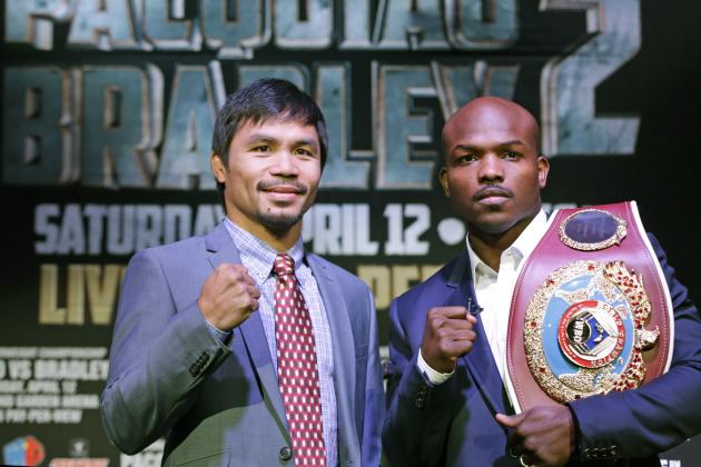 Pacquiao vs. Bradley 2 Fight Card: Full Lineup and Predictions for Entire Event
