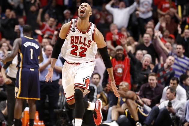 Taj Gibson Has Earned Chicago Bulls' Starting Power Forward Spot Next Season