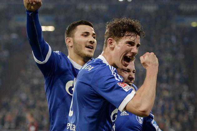 Schalke Trounce Eintracht Frankfurt 2-0 in Bundesliga