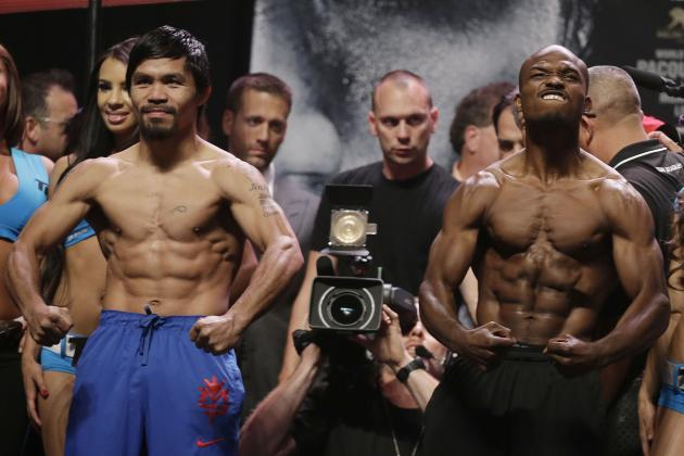 Pacquiao vs. Bradley Weigh-In: Results and Takeaways from Pre-Fight Event