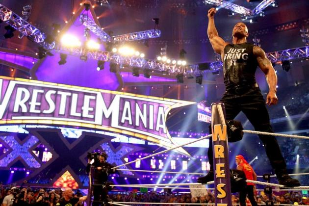 Report: The Rock to Wrestle at WrestleMania Next Year?