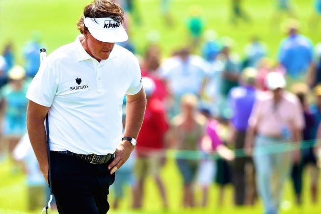 Phil Mickelson Misses Cut After Shooting 5-over Par at 2014 Masters
