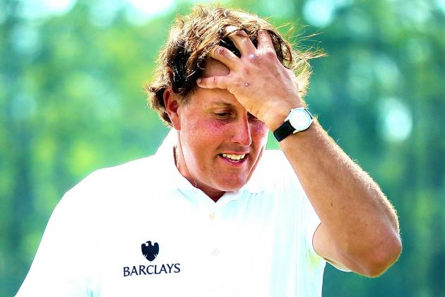 Struggling Phil Mickelson Gets His Punishment, an Early Exit from 2014 Masters