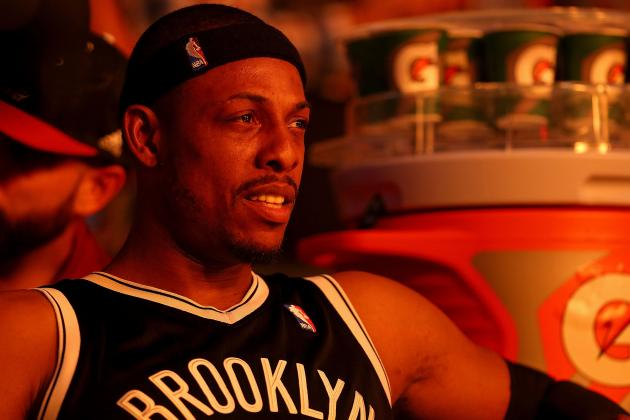 Nets' Paul Pierce Becomes 18th Player in NBA History with 25,000 Points