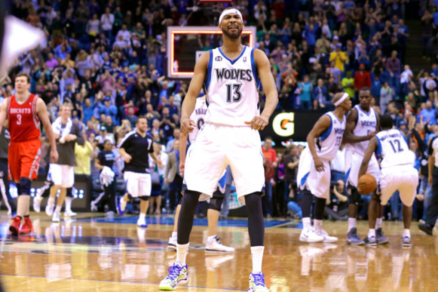 Corey Brewer Explodes for 51 Points in Win over Houston Rockets