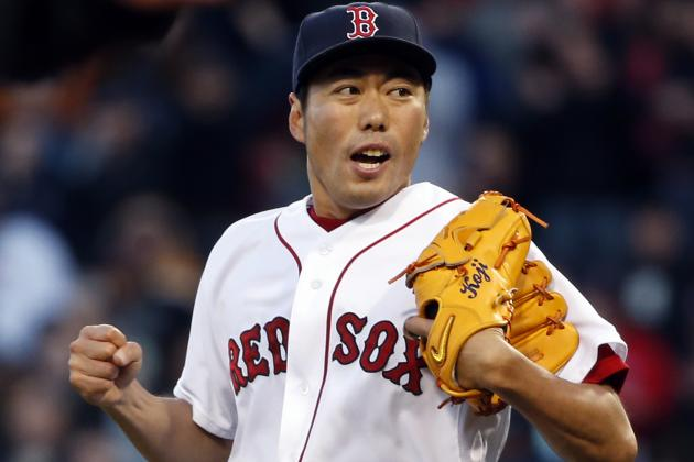 Koji Uehara Sits out Red Sox Win After Experiencing Shoulder Stiffness