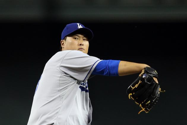 Ryu, Gonzalez Lead Dodgers Past Diamondbacks 6-0