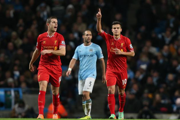 Liverpool vs. Manchester City: Live Stream and Team News for Title Showdown
