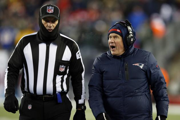 Bill Belichick Has Changed the Way the League Views Replay Rules