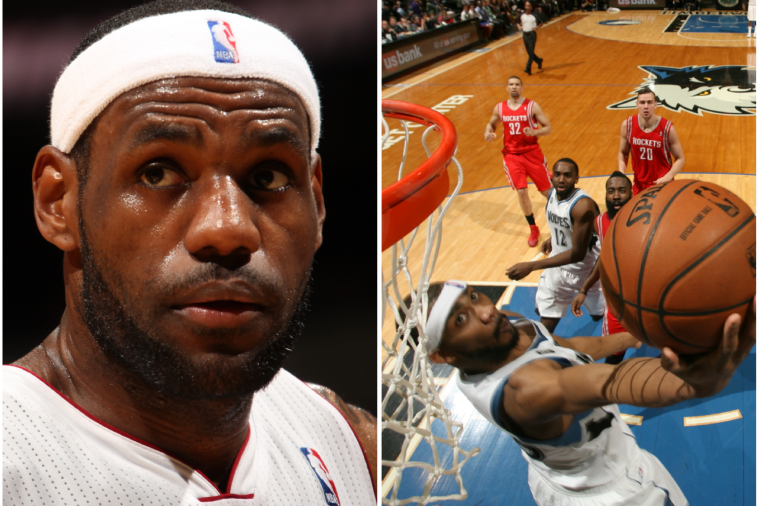 LeBron James Has Perfect Reaction to Corey Brewer's 51-Point Night ...