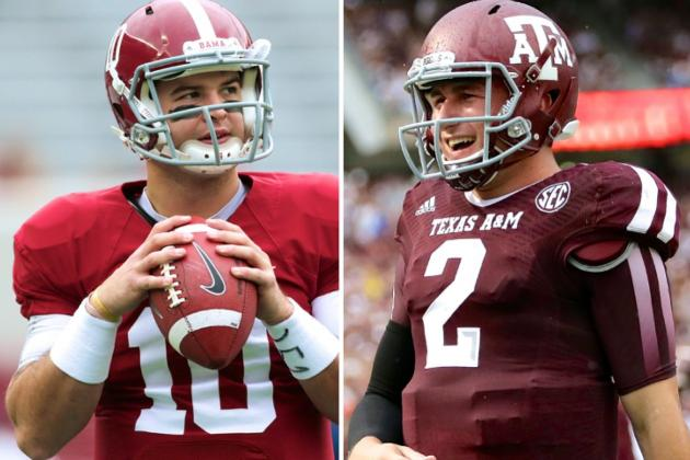 Johnny Manziel vs. AJ McCarron: A Tale of Media Perception