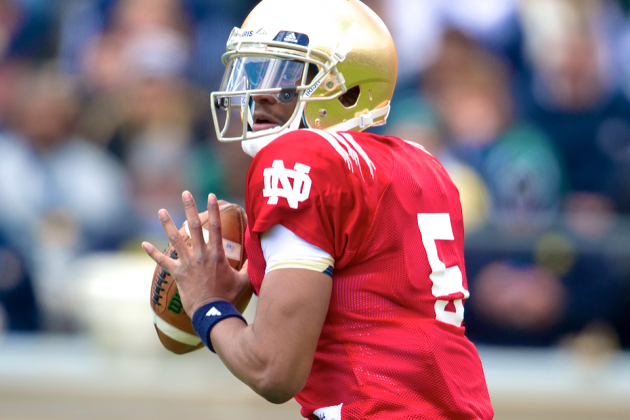 Notre Dame Spring Game 2014: Live Score, Top Performers and Analysis