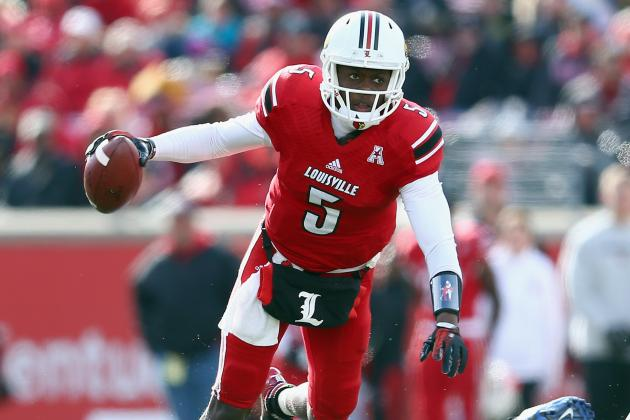 Louisville's Teddy Bridgewater to Work out for Minnesota Vikings