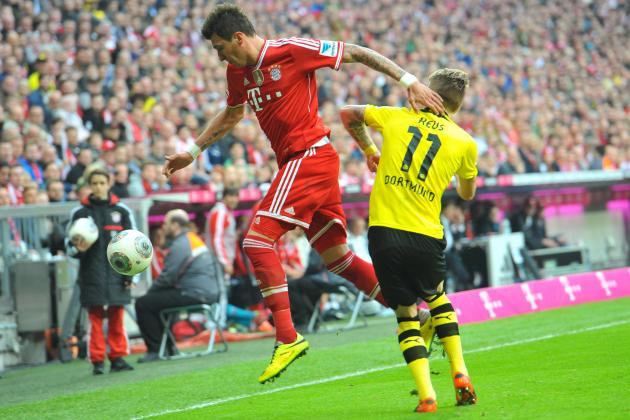 Bayern Munich vs. Borussia Dortmund Live Player Ratings