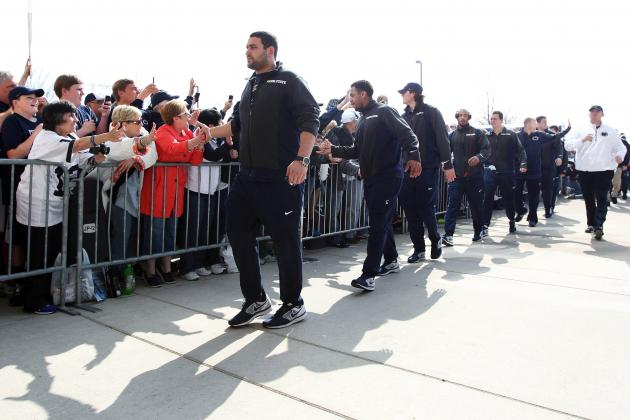 Penn State 2014 Spring Game: Live Game Grades, Analysis for the Nittany Lions