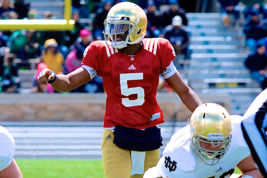Notre Dame Spring Game 2014: Recap, Highlights and Analysis