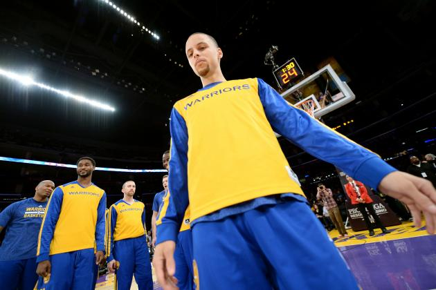 Warriors' Steph Curry Records His 4th Triple-Double of 2013-14 Season
